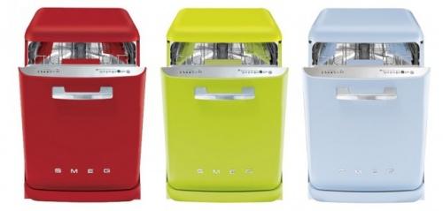 Богатство цветов и размеров посудомоечных машин порадует любого дизайнера