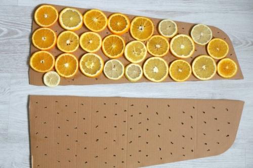 как сушить апельсины на батарее