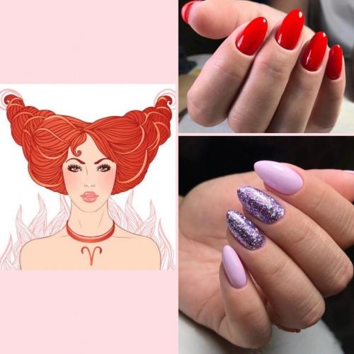 Ярко-красный и фиолетовый - отличные цвета для Овнов