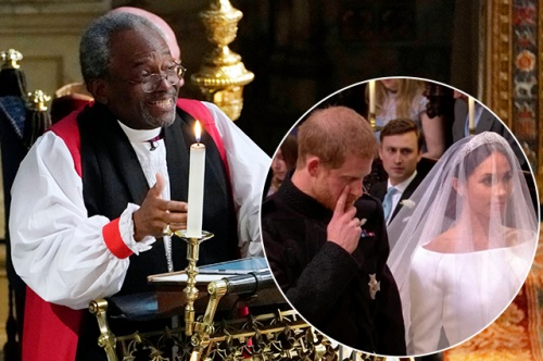 Священник на свадьбе принца Гарри