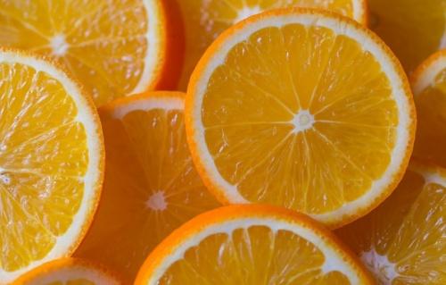 нарезка апельсина кружочками