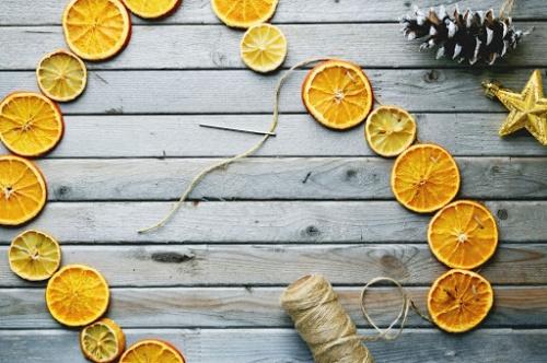 как сушить апельсины на открытом воздухе
