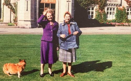 Королева и Маргарет