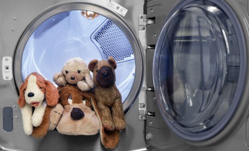 Как постирать мягкие игрушки в машинке - автомат