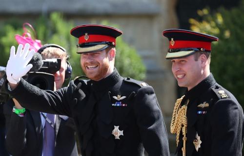 Принц Гарри и Уильям