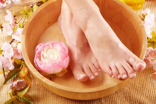 Ванночки для ног от натоптышей