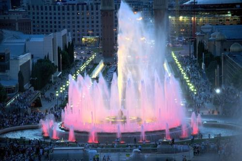 фонтан Монжуик