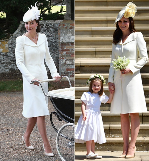 Кейт Миддлтон на свадьбе принца Гарри