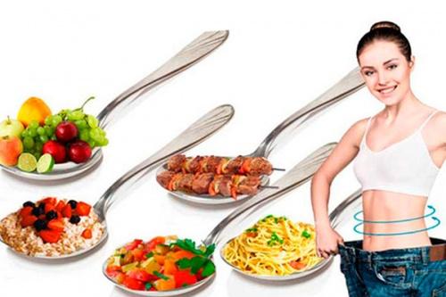 правило 5 ложек - диета для похудения