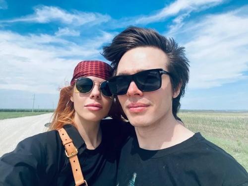 Анастасия Стоцкая и Александр Казьмин