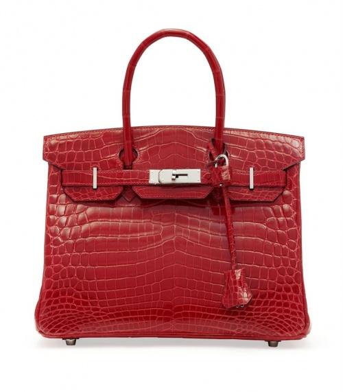 Сумка Hermes Crocodile Birkin Bag