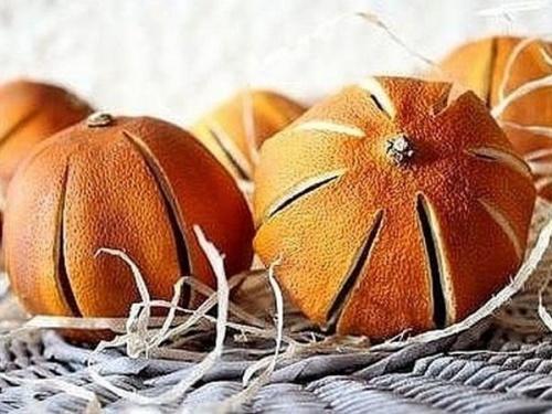 Как сушить целые апельсины