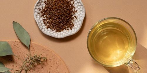 гречка и зеленый чай