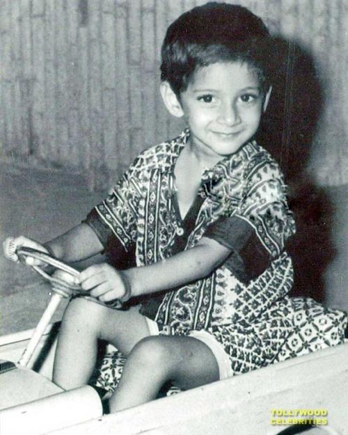 Махеш Бабу в детстве