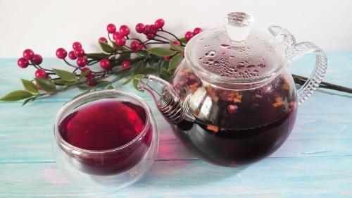фруктовые чай