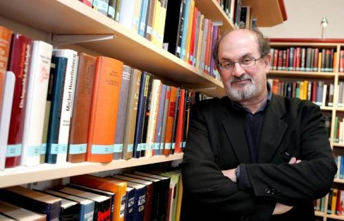 Писатель Салман Рушди