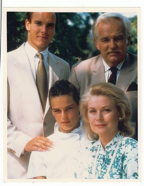 Одна из последних фотографий Грейс Келли с семьей