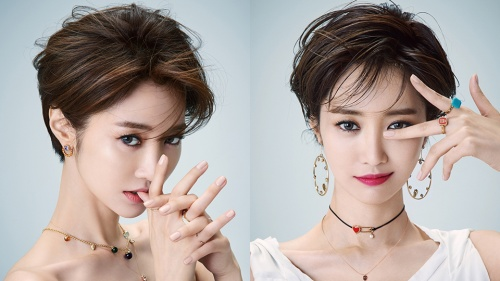 Корейская челка может кардинально поменять внешность.