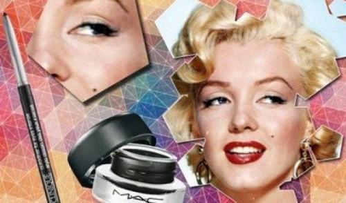 макияж глаз мэрилин монро