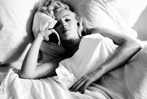 Мэрилин Монро любила поспать