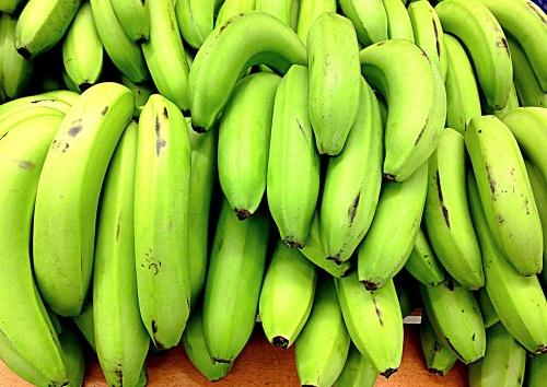 Где держать зелёные бананы, чтоб они дозрели?