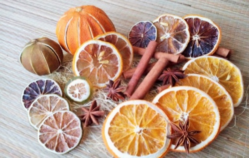 Как сушить апельсины?
