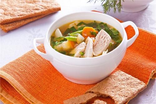 Суп из индейки