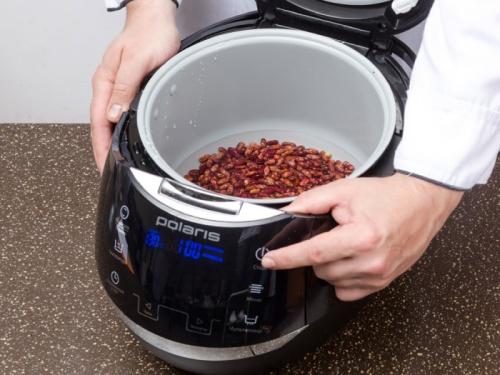 Как варить фасоль в мультиварке?