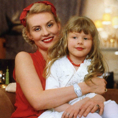 Ульяна Добровская в детстве